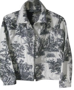 New Identity Black & White Toile Jacket