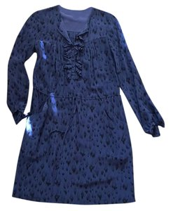 Rebecca Taylor short dress Blue on Tradesy