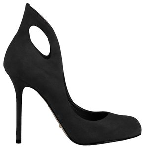 Sergio Rossi Classic Date Night Night Out Black Pumps