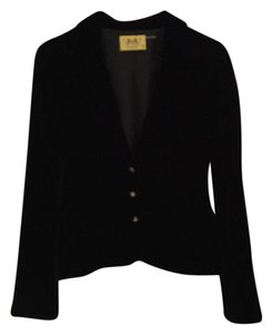 Juicy Couture Nwot Velvet Never Worn Black Blazer