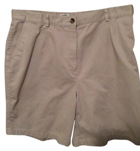 L.L.Bean Bermuda Shorts Khaki Tan