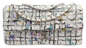 Chanel Limited Edition Hand Painted Leather Shoulder Bag