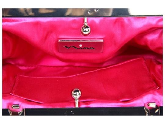 Touch of Nina Pink Clutch Image 1