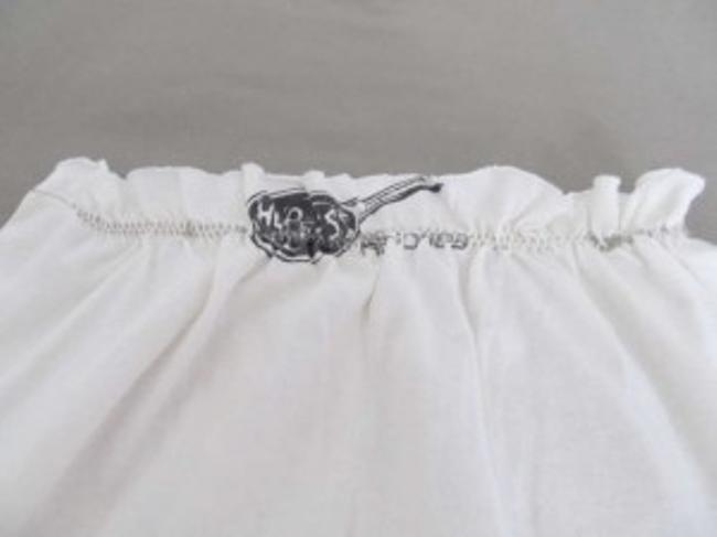 Rock'n'Roll Threads short dress White with graphic print on Tradesy
