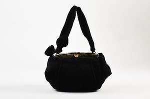 ALAÏA Alaia Black Suede Shoulder Bag