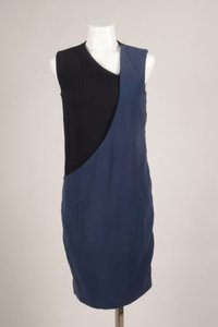 Clotilde Chapter Black Blue Dress