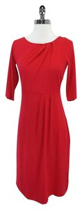 L.K. Bennett short dress Lipstick Red 3/4 Sleeve on Tradesy