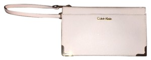 Calvin Klein Collection White Clutch