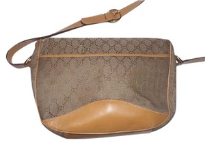 Gucci Xl Size Hobo Restored Lining Gold Hardware Large G Logo Print Cross Body Bag