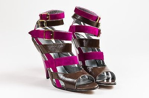 Georgina Goodman Fuchsia Multi-Color Sandals