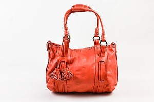 Marc Jacobs Dark Tote in Coral