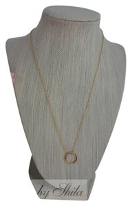 Shiekh Open Circle Necklace