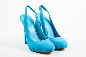B Brian Atwood Turquoise Blue Pumps