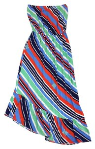 Maxi Dress by Lilly Pulitzer Nautical Striped Strapless