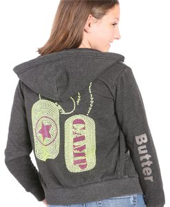 Butter Supersoft Childrens Hoodiezip Made In Usa Sweatshirt