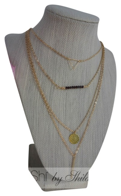 Item - Gold Four Layered Necklace
