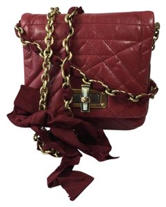 Lanvin Leather Mini Cross Body Bag