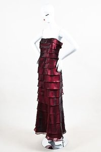 Roland Nivelais Maroon Dress