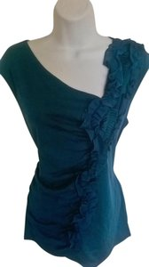 Classiques Entier Ruffle Top Teal