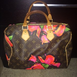 Louis Vuitton Tote in limited edition Stephen sprouse rose