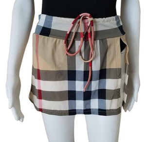 Burberry Skirt Cover Up