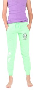 Butter Kids Butter Supersoft Logo Sweatpants with Bubble Gum Applique