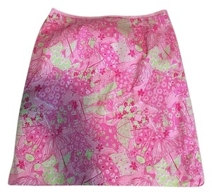 Lilly Pulitzer Skirt Pink and Green