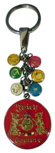 Juicy Couture key chain with tags