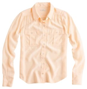 J.Crew Button Down Shirt Fresh Apricot