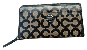 Coach Long Monogram Wallet