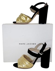 Marc Jacobs Black Gold Chunky Sandal Sandals