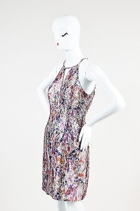 Phoebe Couture Multicolor Metallic Dress