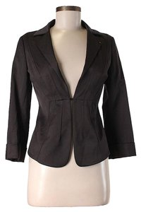 Sportmax Solid Brown Blazer