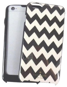 Kate Spade Kate Spade Black/White Chevron Hybrid Hardshell iPhone 6 6s PLUS Case