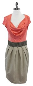 Rachel Roy short dress Coral Grey Cap Sleeve on Tradesy