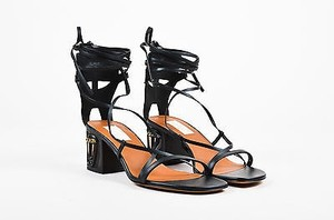 Valentino Leather Black Sandals
