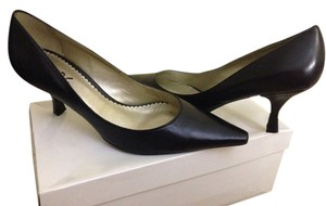 BCBG Black silk kid Pumps