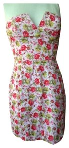 Naven short dress Lt. Pink Floral Print on Tradesy