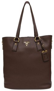 Prada Designer Tote in Brown