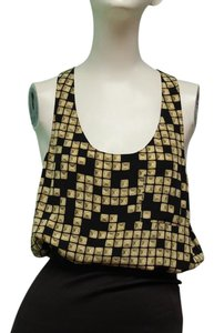 Alexander Wang Top Black and gold