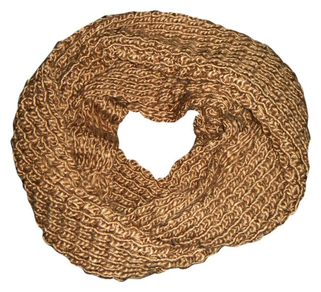 Item - Brown Thick Knit Infinity By Scarf/Wrap