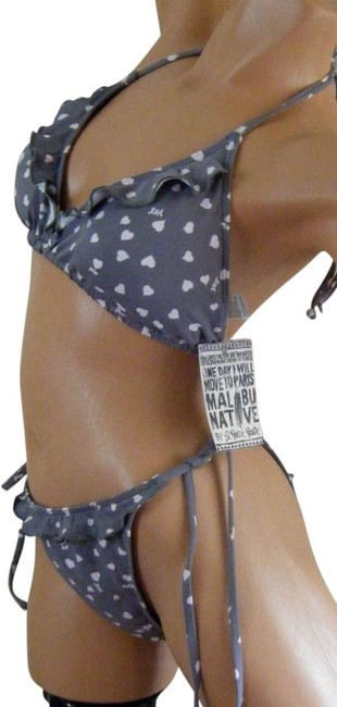 Preload https://item4.tradesy.com/images/gray-w-pink-polka-dots-xl-2pc-by-hearts-ruffles-ties-at-bikini-set-size-18-xl-plus-0x-180433-0-0.jpg?width=400&height=650