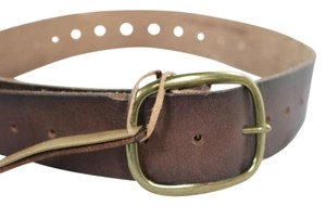 Other Linea Pelie Vintage Womens Brown Distressed Belt Leather