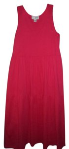 Red Maxi Dress by Joan Vass