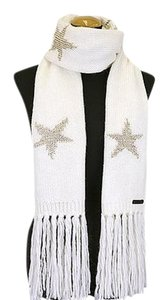 Coach New w/Tags Coach Sparkle Star Intarsia Scarf F77716