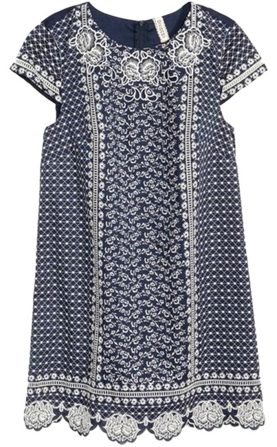c6225ea7db1a hot sale 2017 H&M Navy Blue Divided Dress - 42% Off Retail - www ...