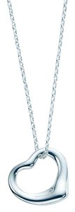 Tiffany & Co. 16mm Elsa Peretti Open Heart Necklace