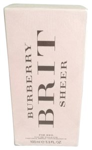 Burberry Brit Burberry Brit Sheer Perfume 3.3 FL. oz