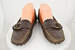 Lauren Ralph Lauren Womens Brown Flats