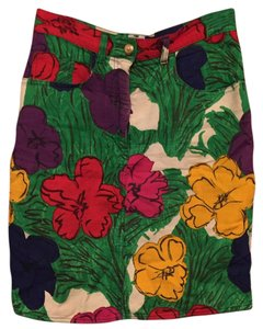 Moschino Skirt floral